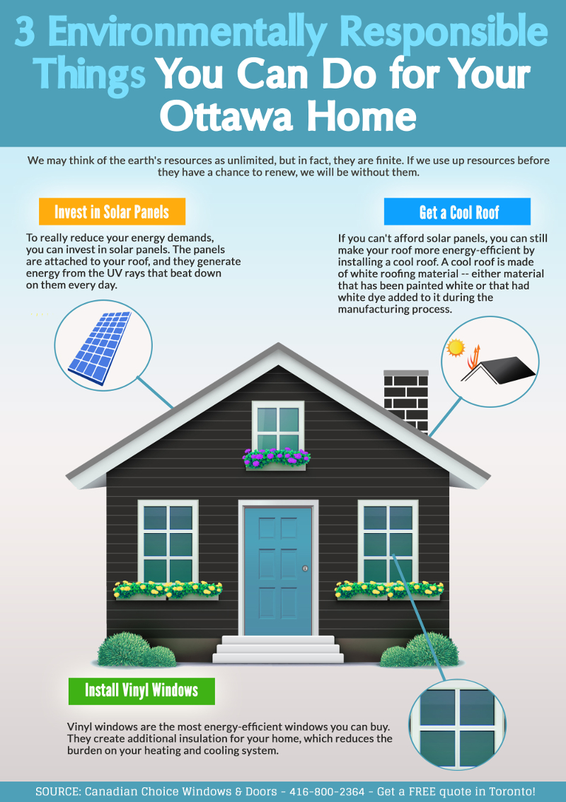 3 Environmentally Responsible Things You Can Do for Your Ottawa Home