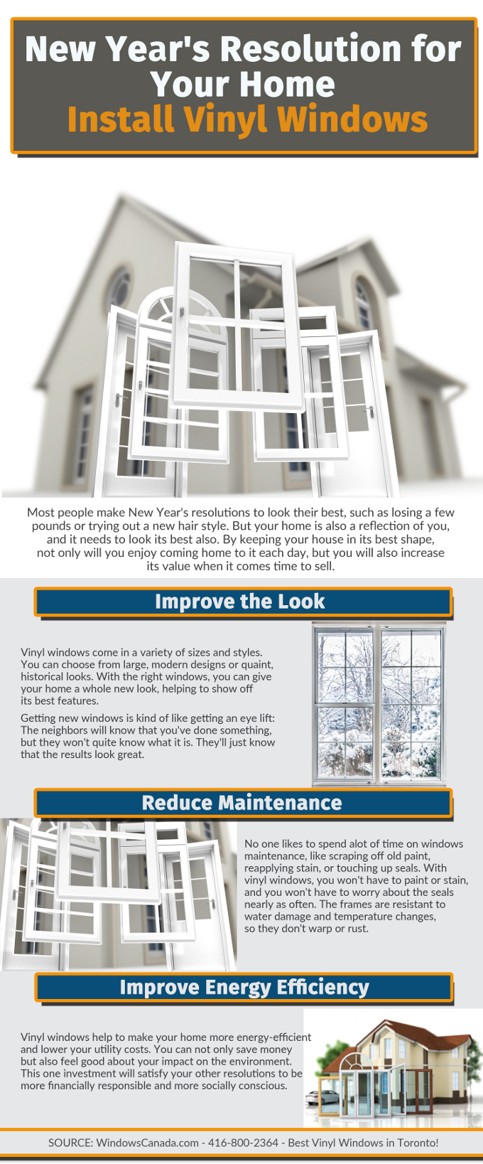 New Year's Resolution for Your Home: Install Vinyl Windows