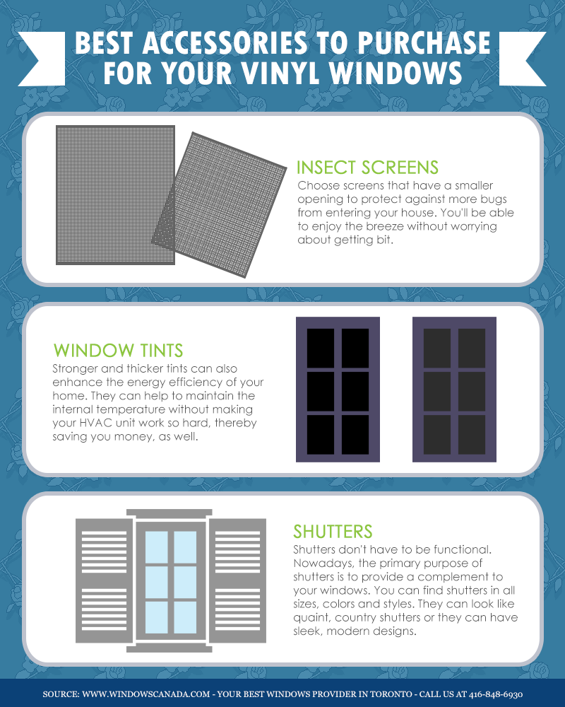 Best Accessories to Purchase for Your Vinyl Windows