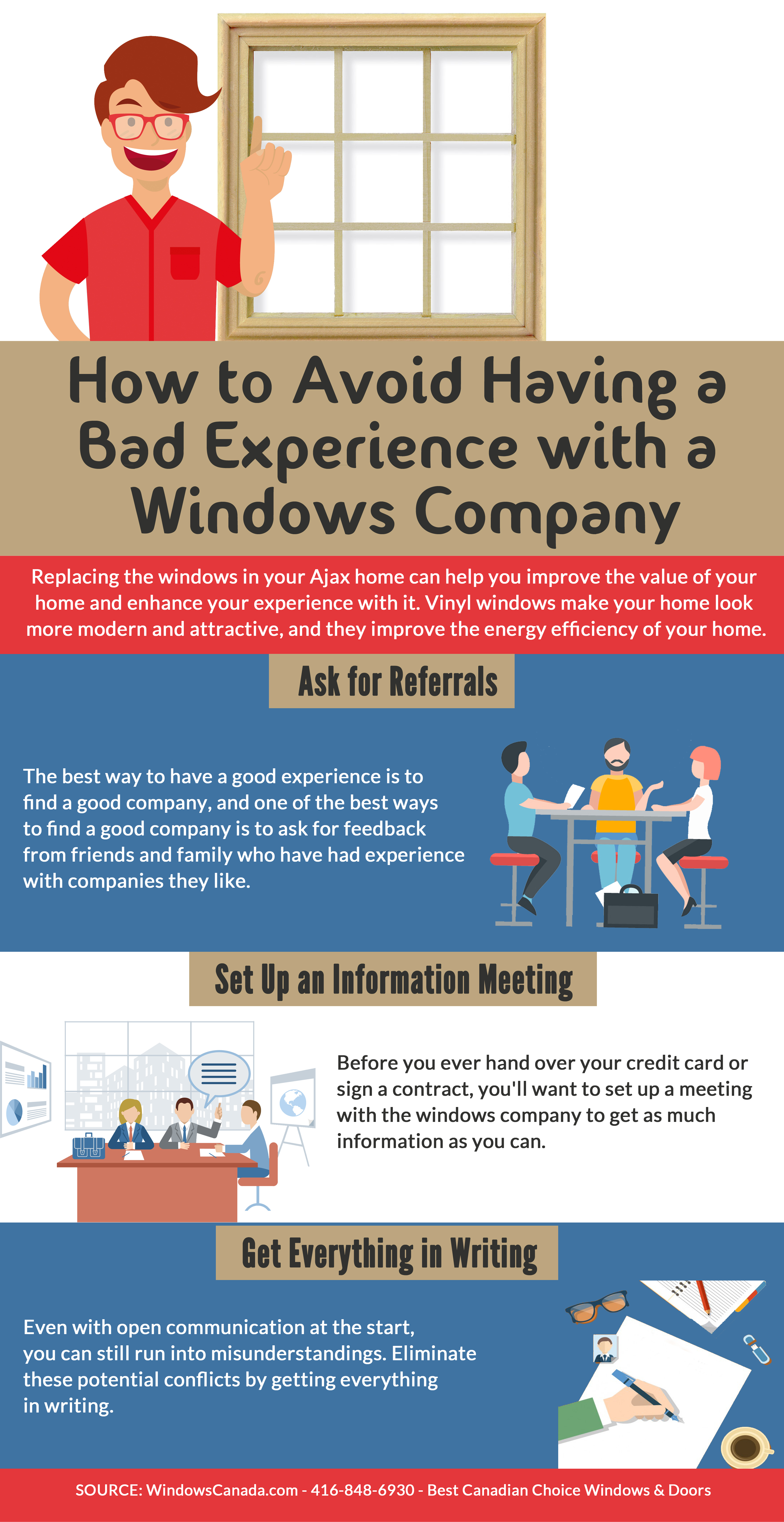 How to Avoid Having a Bad Experience with a Windows Company
