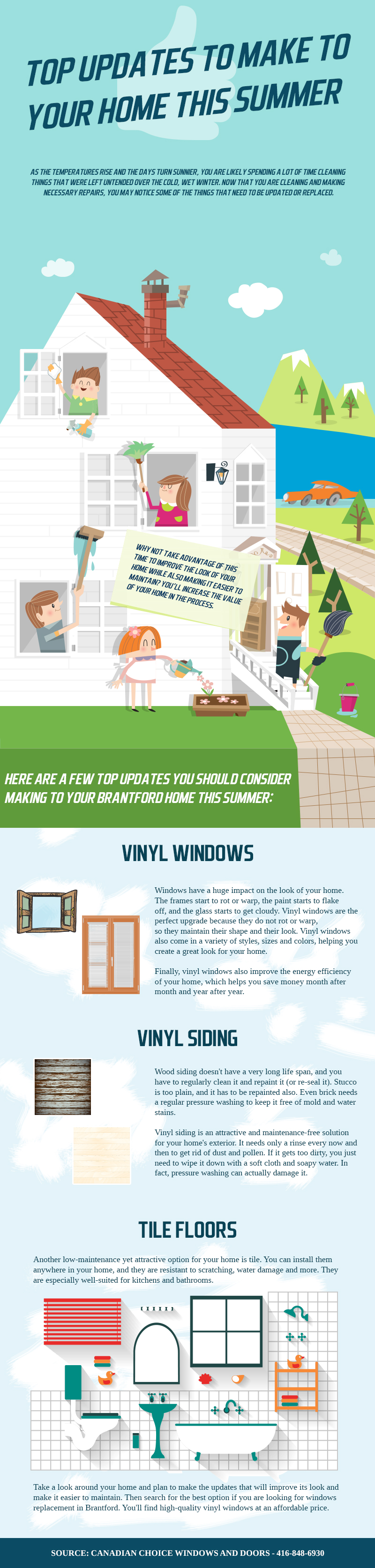 Top Updates to Make to Your Home this Summer