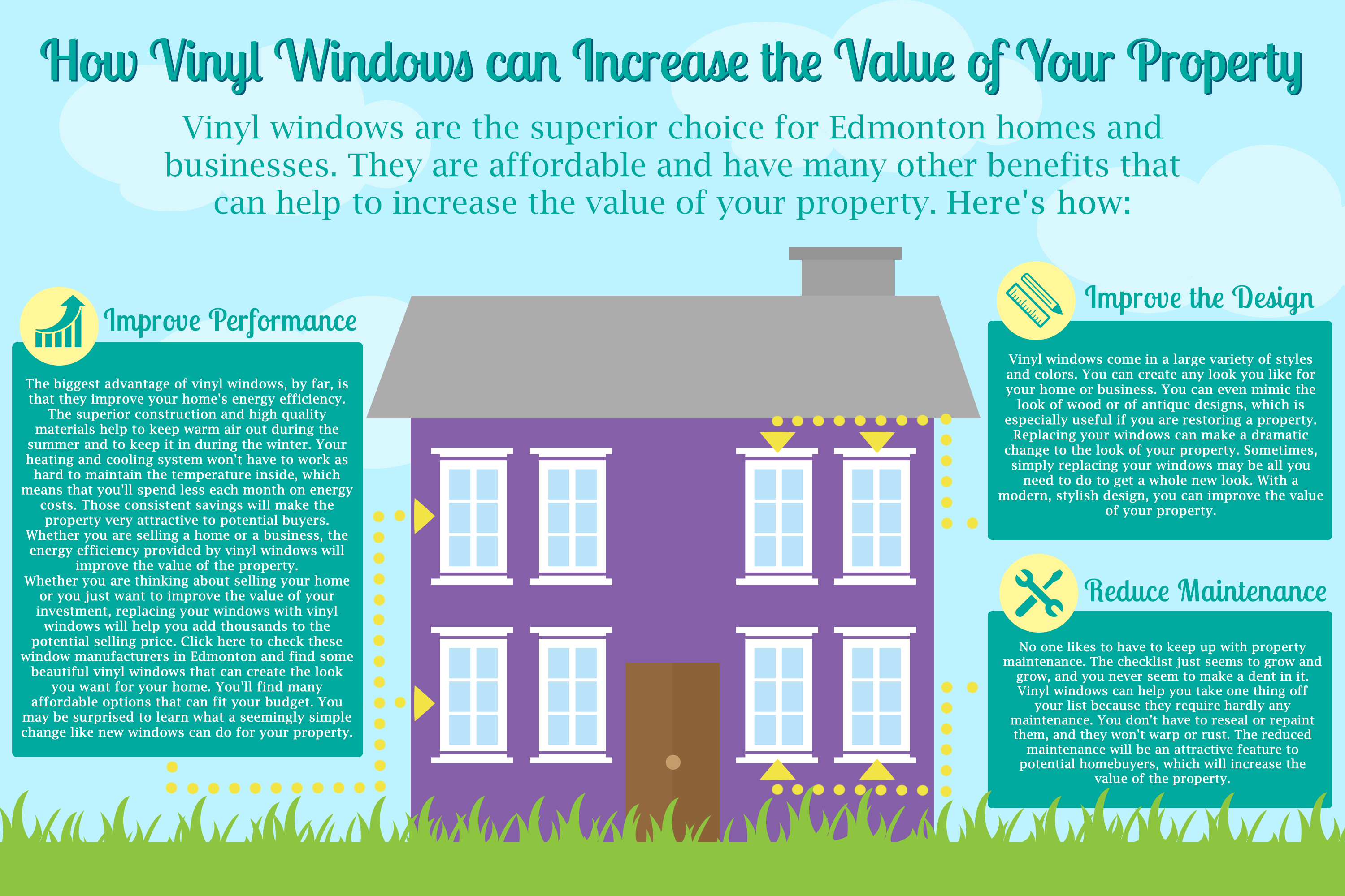 3 Ways to Increase the Value of Your Property with Vinyl Windows