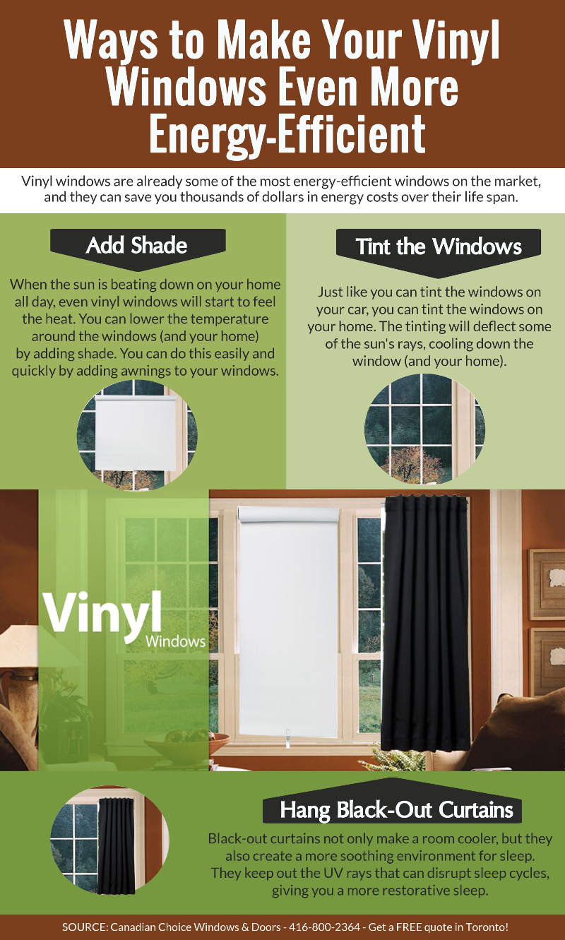 Ways to Make Your Vinyl Windows Even More Energy-Efficient