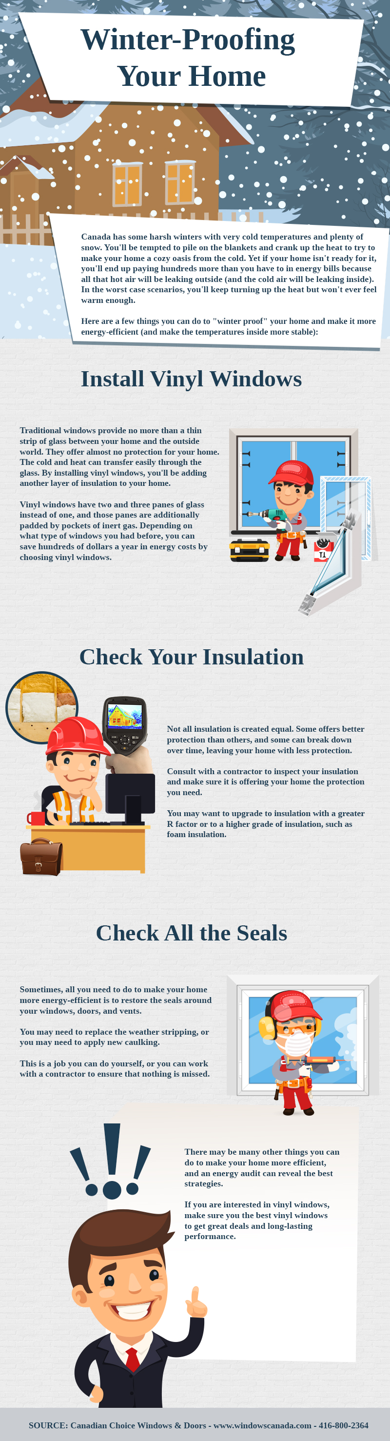 How to Winter-Proof Your Home - Infographic
